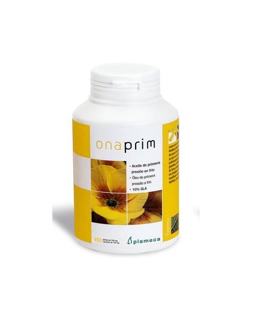 ONA-PRIM (Onagra semillas 1ª presión en frío 10% GLA + Vit. E) 450 perlas