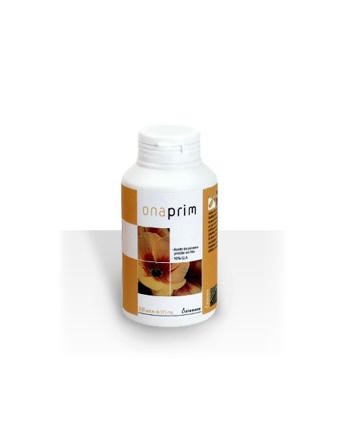 ONA-PRIM (Onagra semillas 1ª presión en frío 10% GLA + Vit. E) 200 perlas
